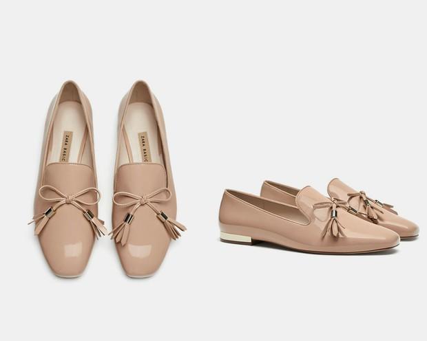 15 mẫu giày màu be đến từ Zara, H&M, Topshop vô cùng thanh lịch và trang nhã dành cho các quý cô công sở - Ảnh 5.