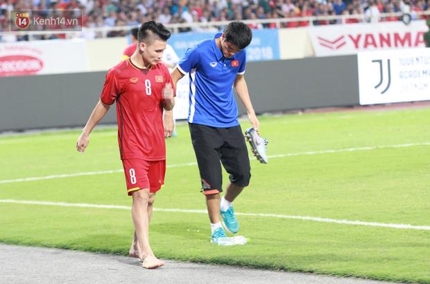 Quang Hải dính chấn thương trước thềm ASIAD 2018, người hâm mộ Việt Nam thót tim - Ảnh 4.