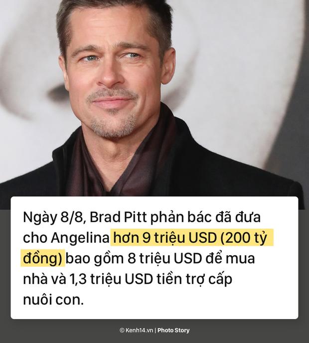 Cặp đôi từng được ngưỡng mộ nhất nhì Hollywood Brangelina tranh cãi gay gắt vì khối tài sản 200 tỷ đồng - Ảnh 3.