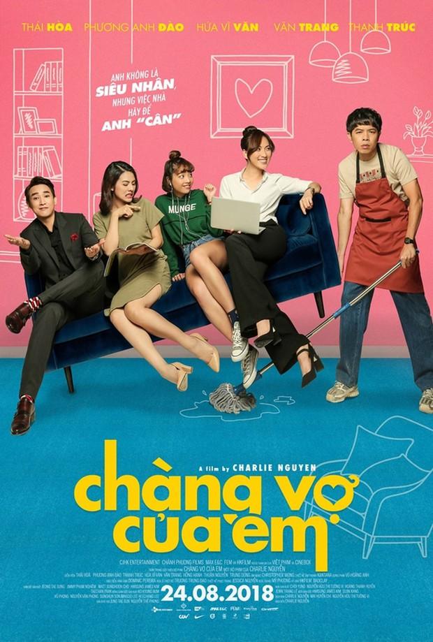 Chàng Vợ Của Em có giúp cặp đôi ông hoàng phòng vé Thái Hòa - Charlie Nguyễn lấy lại uy thế? - Ảnh 2.