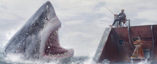 Đệ nhất ăn tạp cá mập khổng lồ trong The Meg sẽ là cơn ác mộng của bạn tháng 8 này! - Ảnh 8.