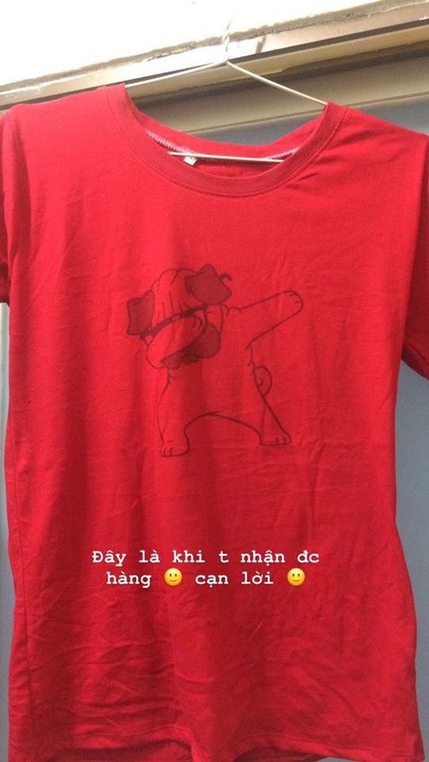 Đặt mua online áo in hình chó dễ thương, thanh niên nhận được chiếc áo có con cún tàng hình - Ảnh 2.