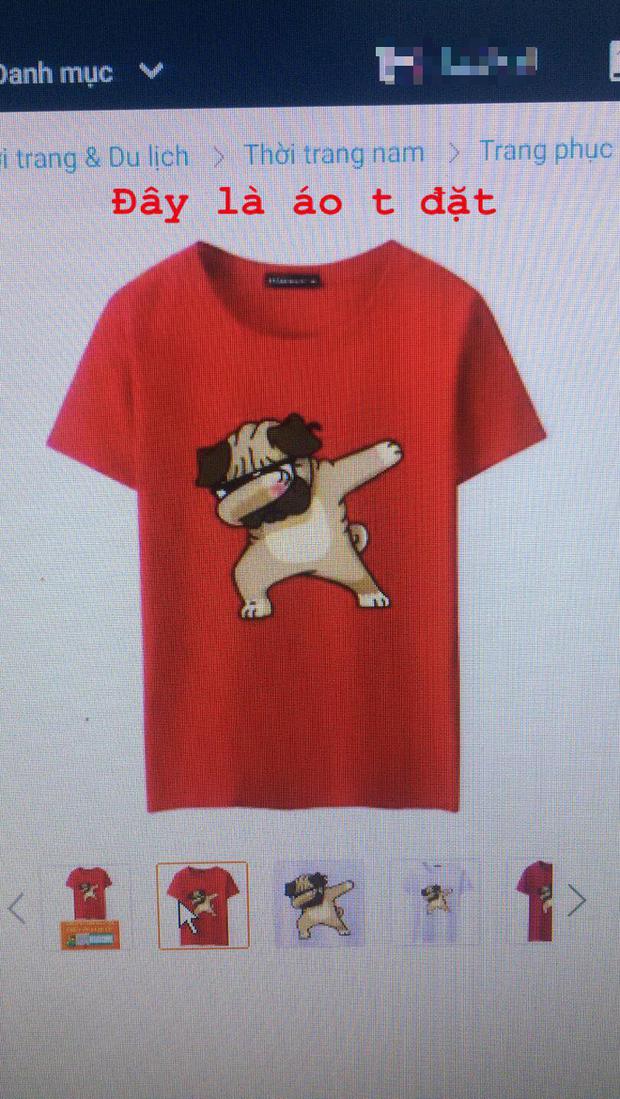 Đặt mua online áo in hình chó dễ thương, thanh niên nhận được chiếc áo có con cún tàng hình - Ảnh 1.
