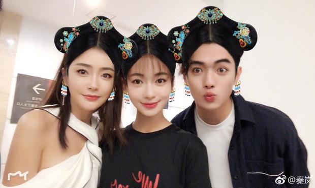 Phó Hằng - Anh Lạc - Hoàng Hậu Diên Hi Công Lược selfie chung - Ảnh 1.