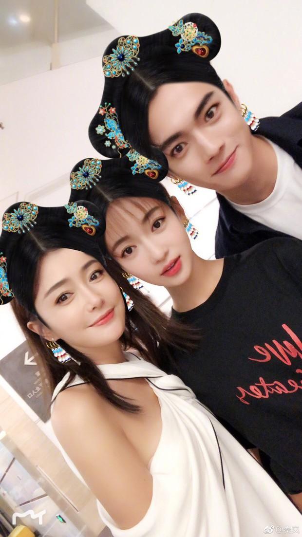 Phó Hằng - Anh Lạc - Hoàng Hậu Diên Hi Công Lược selfie chung - Ảnh 2.