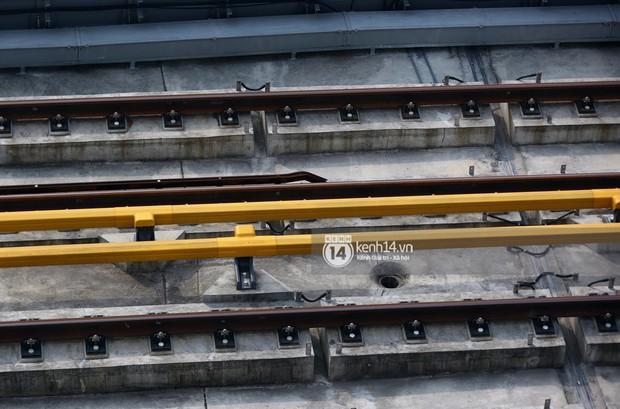 Clip: Hành trình 15 phút đoàn tàu đường sắt trên cao lao vun vút từ ga Cát Linh tới Yên Nghĩa - Ảnh 10.