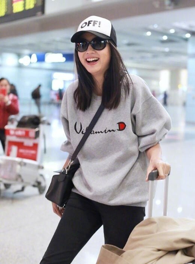 Hoa hậu Thế giới kiêm mẹ bỉm sữa Trương Tử Lâm khoe nhan sắc rạng rỡ ở tuổi 33 - Ảnh 7.