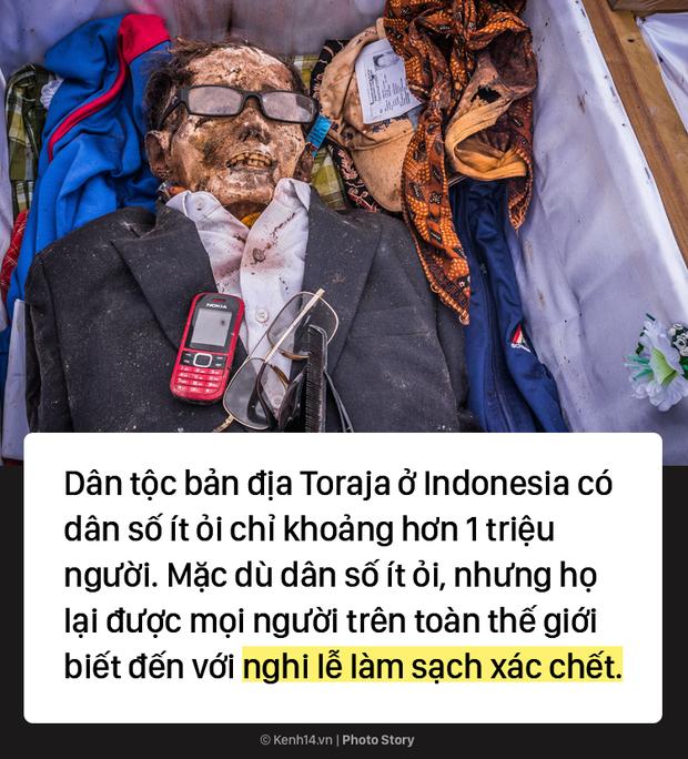 Đào mộ và tắm rửa cho xác chết, đây là cách người Indonesia giúp linh hồn siêu thoát - Ảnh 1.