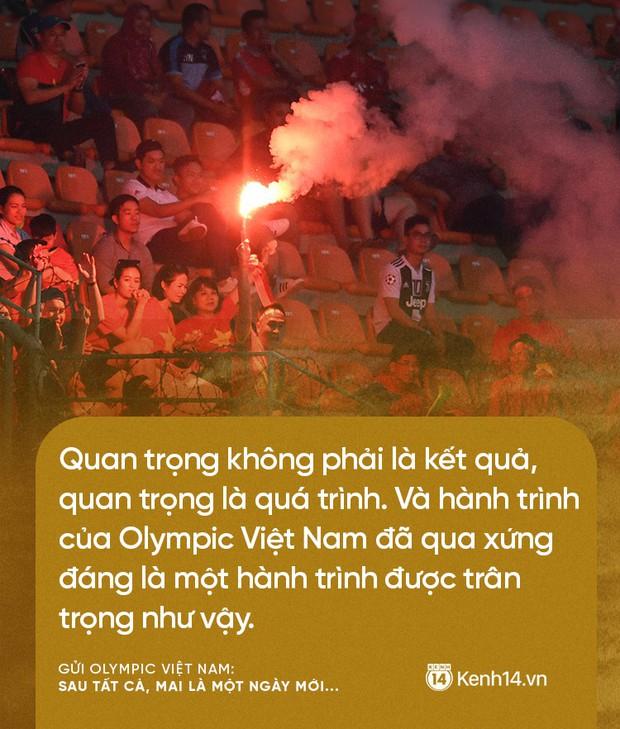 Từ CĐV gửi Olympic Việt Nam: Không sao cả, vì đã yêu thương nên chúng tôi nhất định tiếp tục yêu thương! - Ảnh 4.
