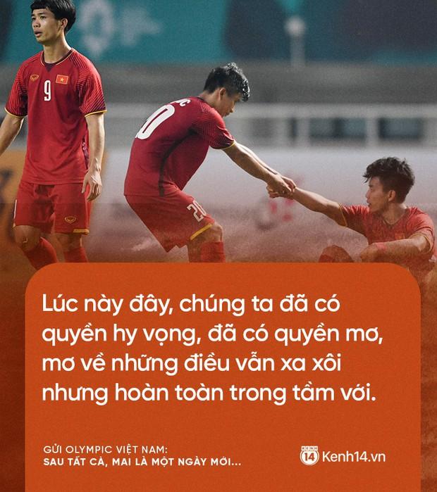 Từ CĐV gửi Olympic Việt Nam: Không sao cả, vì đã yêu thương nên chúng tôi nhất định tiếp tục yêu thương! - Ảnh 5.