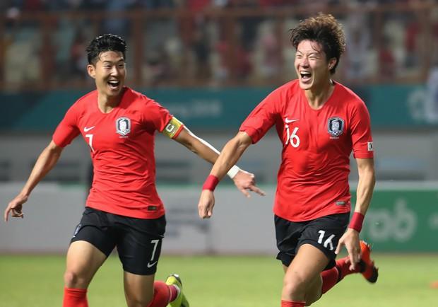 Olympic Hàn Quốc giành HC vàng ASIAD 2018, Son Heung-min được miễn nghĩa vụ quân sự - Ảnh 2.
