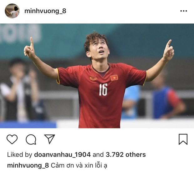 Cầu thủ Olympic Việt đồng loạt xin lỗi sau giải đấu cuối cùng ở cấp độ U23, fan xúc động hỏi: Có gì mà phải xin lỗi? - Ảnh 7.