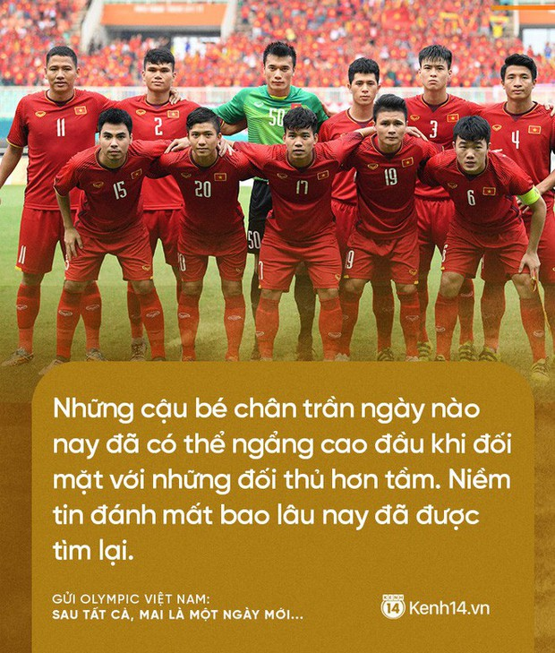 Từ CĐV gửi Olympic Việt Nam: Không sao cả, vì đã yêu thương nên chúng tôi nhất định tiếp tục yêu thương! - Ảnh 1.