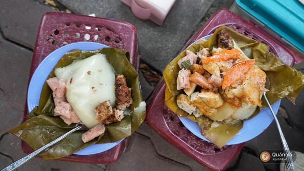 Đâu chỉ là món ăn trong bữa cơm gia đình, chả cốm giờ còn là loại topping xịn sò ăn kèm với loạt món khác ở Hà Nội - Ảnh 2.
