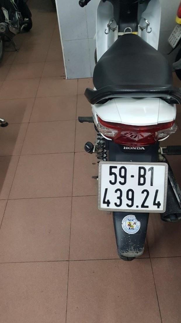 Thanh niên 9X trộm xe máy của người đàn ông ngủ tại trạm xe buýt ở Sài Gòn - Ảnh 2.