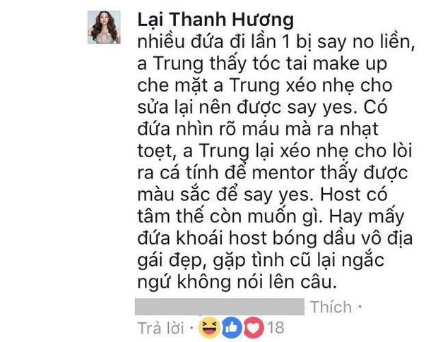 Lại Thanh Hương khen ngợi Nam Trung nhưng cũng không quên đá xéo Hữu Vi? - Ảnh 3.