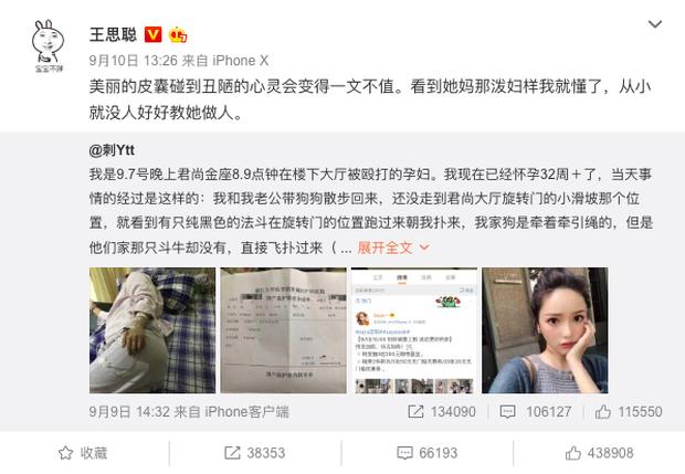Chó cưng bulldog cắn người phụ nữ có thai, beauty blogger nổi tiếng Trung Quốc không xin lỗi còn đánh luôn cả nạn nhân - Ảnh 1.