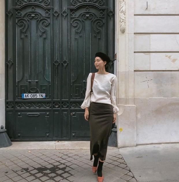 Muốn diện đồ đơn giản mà không bị nhàm chán, các nàng hãy ngắm qua street style Châu Á tuần này xem sao - Ảnh 5.