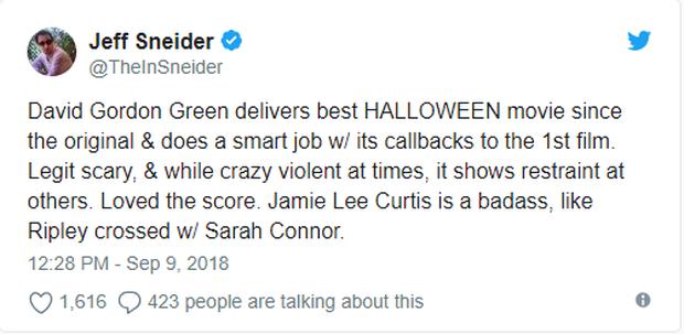 Phim kinh dị Halloween được giới phê bình khó tính tại LHP Toronto khen ngợi hết lời - Ảnh 8.