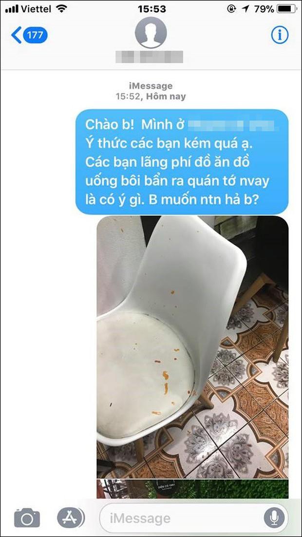 Cặp đôi đùa giỡn khiến tương cà, tương ớt văng bẩn khắp quán trà sữa, chủ quán đăng đàn trách móc khiến cộng đồng mạng cũng dậy sóng - Ảnh 6.
