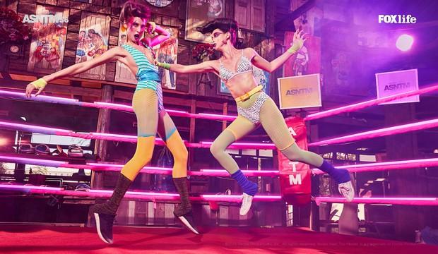 Next Top châu Á: Thí sinh đá nhau đến loạng choạng trên sàn đấu vật - Ảnh 3.