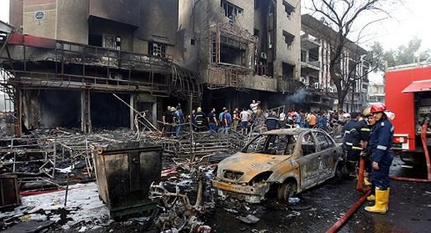Iraq đánh bom xe, gần 40 người thương vong - Ảnh 1.