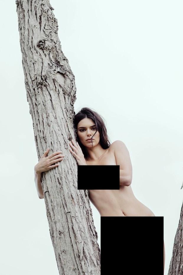 Kendall Jenner lộ cả bộ ảnh khỏa thân hoàn toàn gây sốc, trở thành cái tên viral hàng đầu mạng xã hội! - Ảnh 6.
