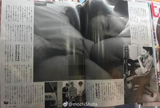 Idol đình đám Nhật Bản lộ ảnh tình một đêm nhạy cảm với gái bồi rượu quán bar - Ảnh 1.