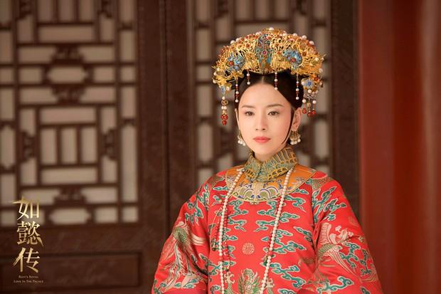 Mê đắm với thần thái chuẩn mẫu nghi thiên hạ ở đại lễ sắc phong Hoàng hậu của Như Ý Châu Tấn - Ảnh 1.