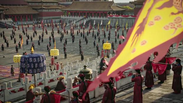 Mê đắm với thần thái chuẩn mẫu nghi thiên hạ ở đại lễ sắc phong Hoàng hậu của Như Ý Châu Tấn - Ảnh 11.