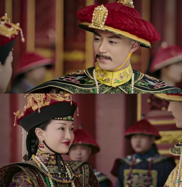 Mê đắm với thần thái chuẩn mẫu nghi thiên hạ ở đại lễ sắc phong Hoàng hậu của Như Ý Châu Tấn - Ảnh 12.