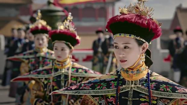 Mê đắm với thần thái chuẩn mẫu nghi thiên hạ ở đại lễ sắc phong Hoàng hậu của Như Ý Châu Tấn - Ảnh 13.