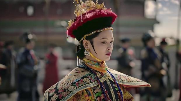 Mê đắm với thần thái chuẩn mẫu nghi thiên hạ ở đại lễ sắc phong Hoàng hậu của Như Ý Châu Tấn - Ảnh 14.