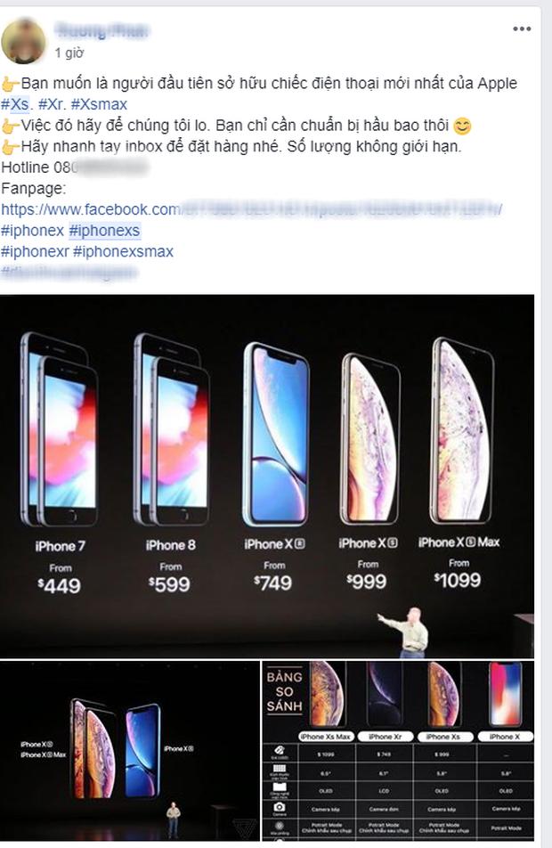 Mới ra mắt chưa được 12 giờ, du học sinh Việt các nước đã rầm rộ rao bán/đặt hàng iPhone Xs, Xs Max, Xr - Ảnh 3.