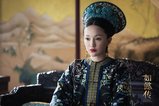 Mê đắm với thần thái chuẩn mẫu nghi thiên hạ ở đại lễ sắc phong Hoàng hậu của Như Ý Châu Tấn - Ảnh 2.