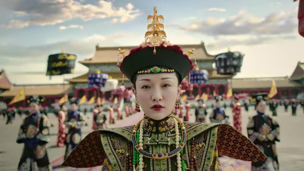 Mê đắm với thần thái chuẩn mẫu nghi thiên hạ ở đại lễ sắc phong Hoàng hậu của Như Ý Châu Tấn - Ảnh 6.