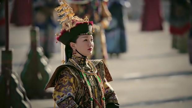 Mê đắm với thần thái chuẩn mẫu nghi thiên hạ ở đại lễ sắc phong Hoàng hậu của Như Ý Châu Tấn - Ảnh 5.