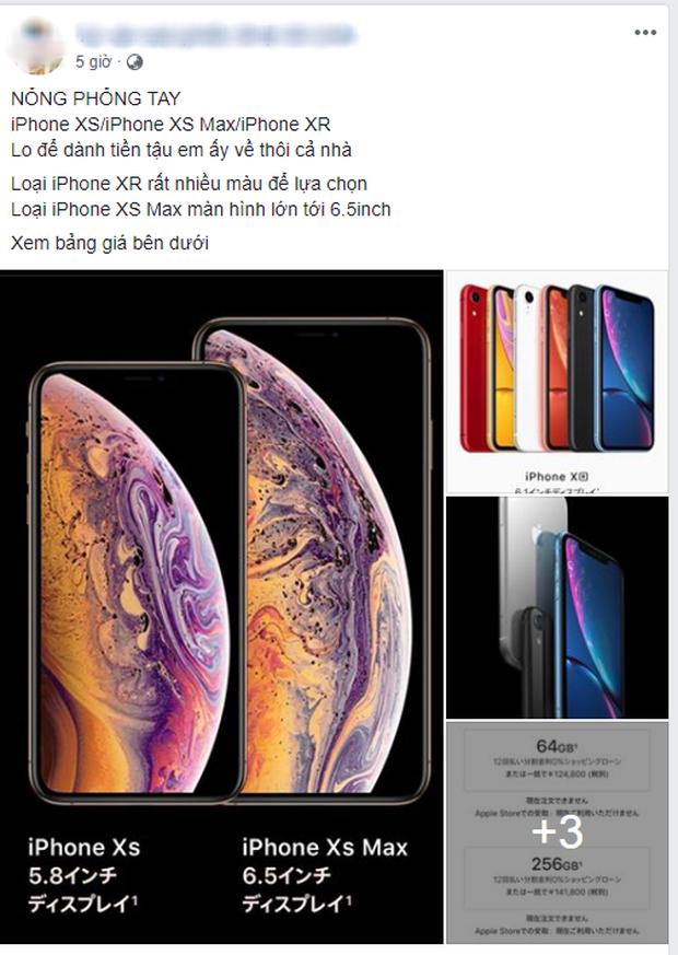 Mới ra mắt chưa được 12 giờ, du học sinh Việt các nước đã rầm rộ rao bán/đặt hàng iPhone Xs, Xs Max, Xr - Ảnh 7.