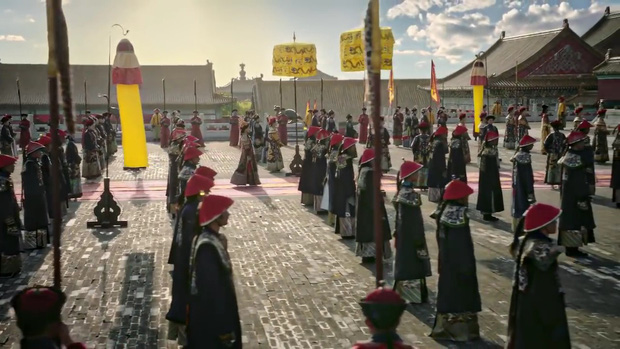 Mê đắm với thần thái chuẩn mẫu nghi thiên hạ ở đại lễ sắc phong Hoàng hậu của Như Ý Châu Tấn - Ảnh 8.