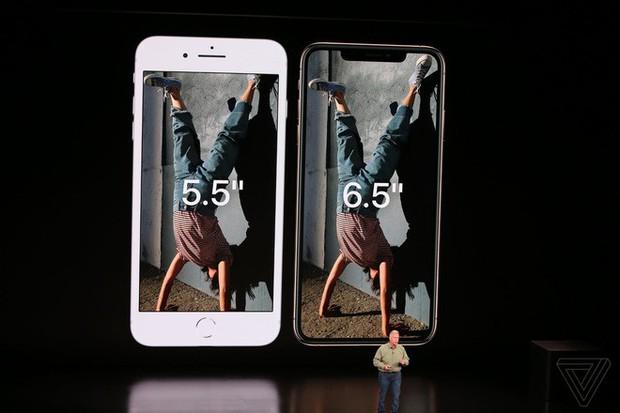 iPhone XS Max của Apple có màn hình lớn hơn cả Galaxy Note9 của Samsung - Ảnh 1.