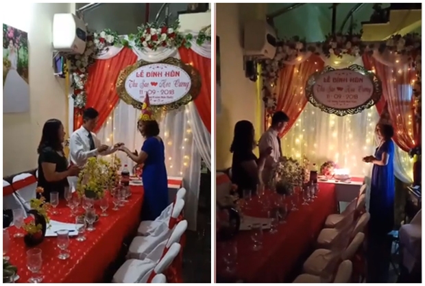 Cô dâu 61 lấy chồng 26 tuổi tiết lộ lễ đính hôn lãng mạn như mơ - Ảnh 2.