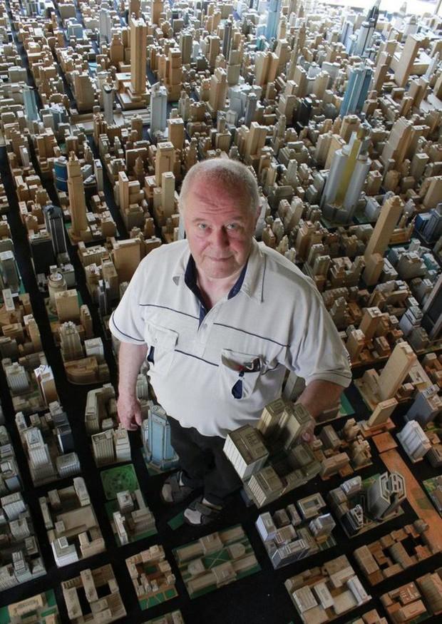 Choáng ngợp với mô hình thành phố mini siêu chi tiết được tạo nên bởi cụ ông 78 tuổi trong suốt hơn 65 năm - Ảnh 11.