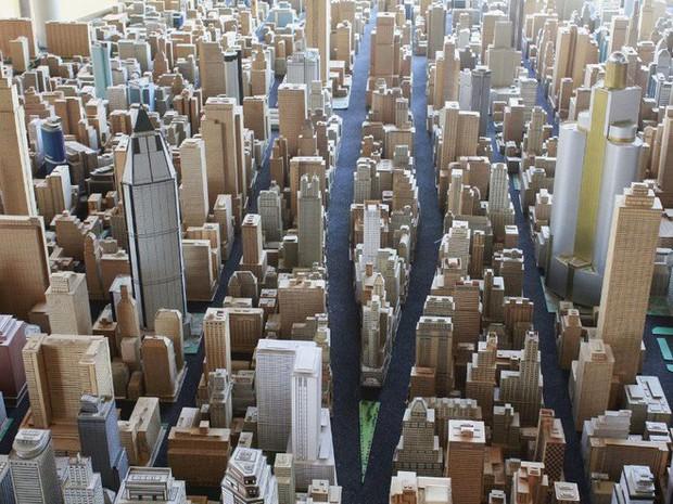 Choáng ngợp với mô hình thành phố mini siêu chi tiết được tạo nên bởi cụ ông 78 tuổi trong suốt hơn 65 năm - Ảnh 13.