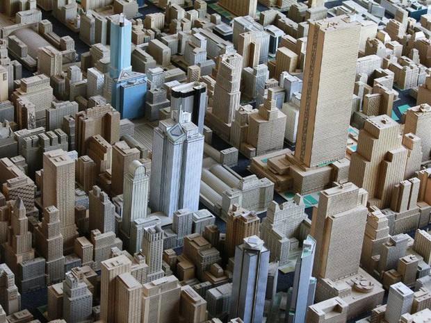 Choáng ngợp với mô hình thành phố mini siêu chi tiết được tạo nên bởi cụ ông 78 tuổi trong suốt hơn 65 năm - Ảnh 15.