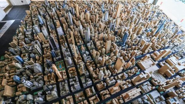 Choáng ngợp với mô hình thành phố mini siêu chi tiết được tạo nên bởi cụ ông 78 tuổi trong suốt hơn 65 năm - Ảnh 5.