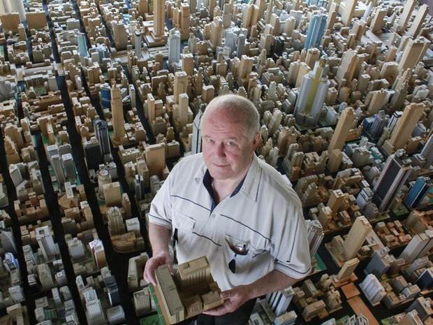 Choáng ngợp với mô hình thành phố mini siêu chi tiết được tạo nên bởi cụ ông 78 tuổi trong suốt hơn 65 năm - Ảnh 7.