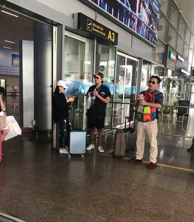 Xuất hiện hình ảnh được cho là Kiều Minh Tuấn và Cát Phượng ở sân bay Đà Nẵng chiều nay - Ảnh 1.