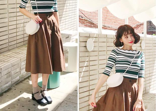 Tạm cất những thiết kế mỏng manh mềm mại, chân váy mùa thu năm nay lại thiên về kiểu đứng dáng thế này - Ảnh 5.