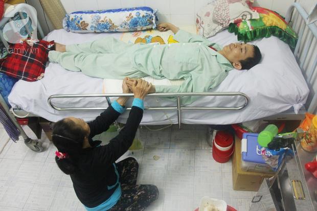 Xin cơm từ thiện suốt 2 năm, người mẹ nuôi con trai tật nguyền chỉ ước có một bữa no rồi chết cùng con - Ảnh 6.