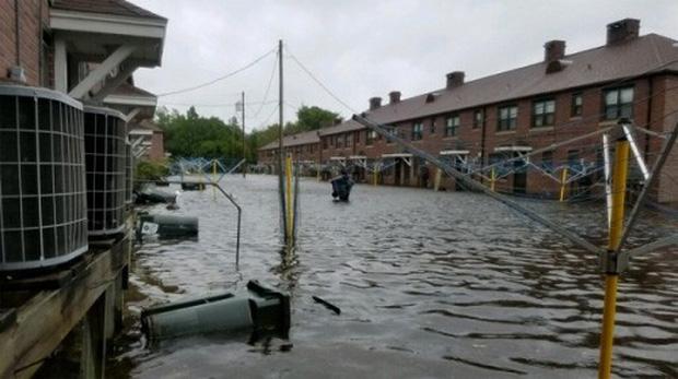 Siêu bão Florence có thể trút 37,8 nghìn tỷ lít nước khi đổ bộ vào Mỹ - Ảnh 5.